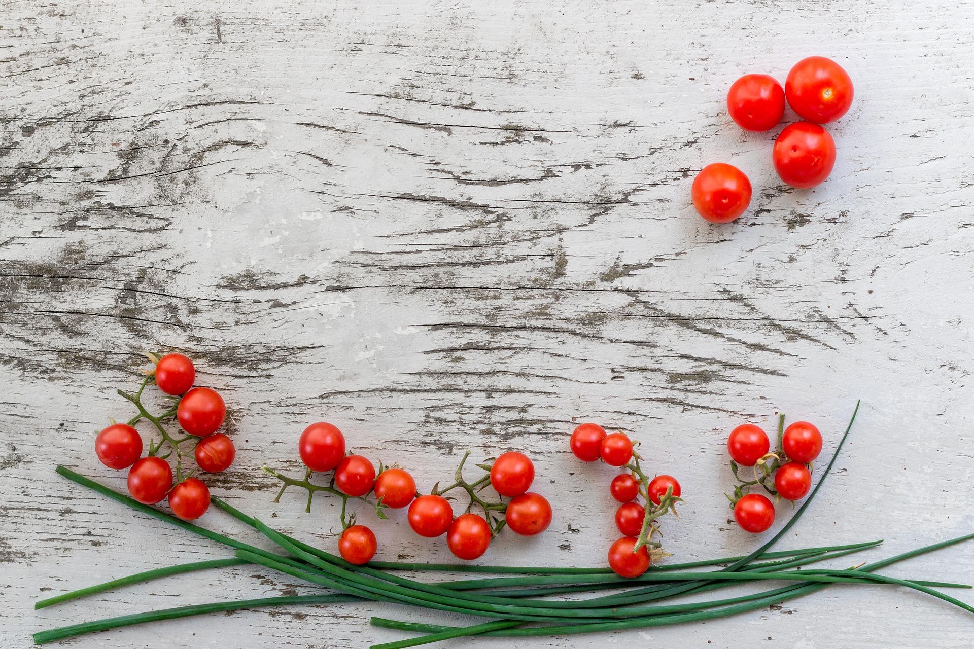 Raw Tomatoes Healthy Food